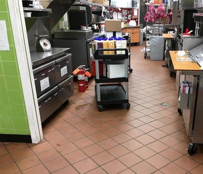 Grease Fire In Restaurant After