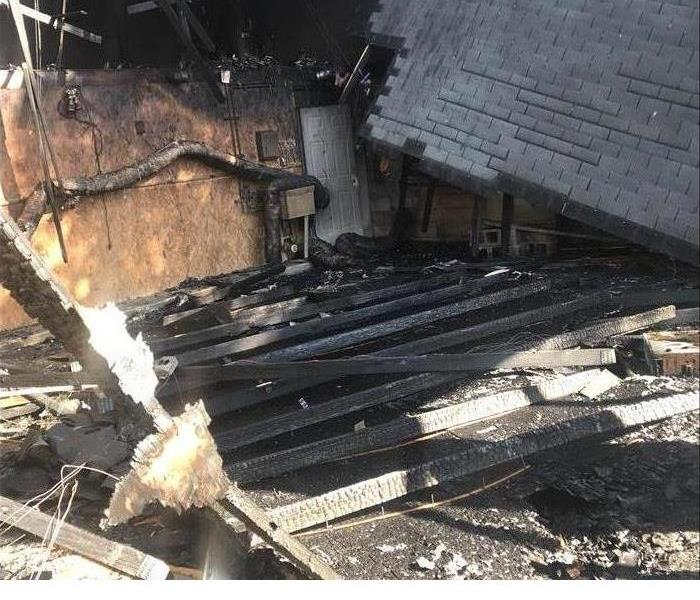 House Fire Damage in PA