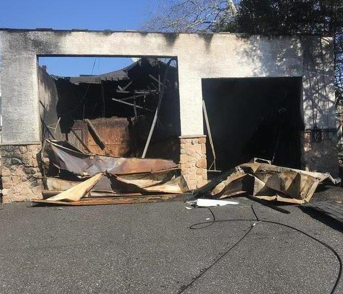 Fire Damage to Building in PA