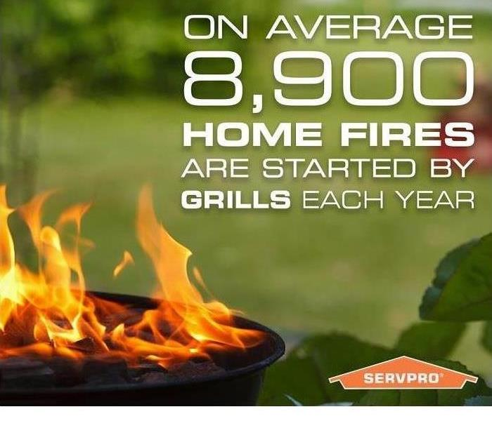 Fire Damage Help Prevent Outdoor Cooking Fires